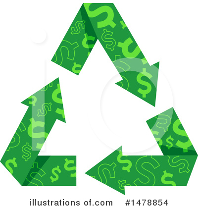 Recycling Clipart #1478854 by BNP Design Studio