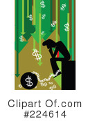 Royalty-Free (RF) Finance Clipart Illustration #224614