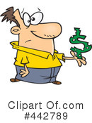 Royalty-Free (RF) Finance Clipart Illustration #442789