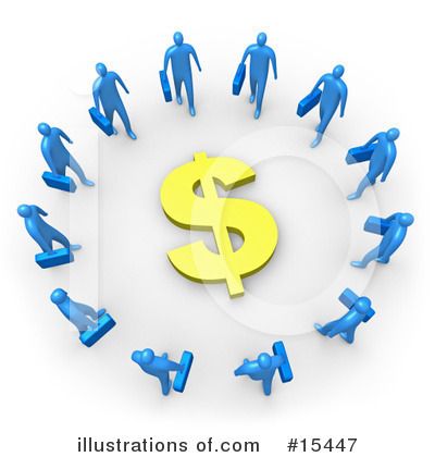 Financial Clipart #15447 by 3poD