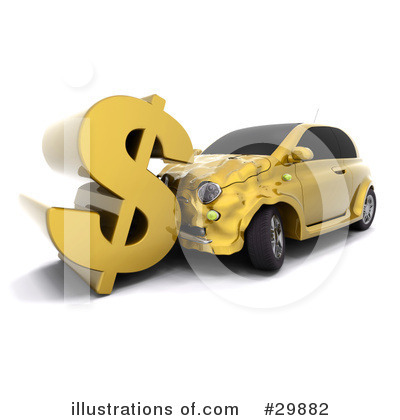 Car Wreck Clipart #29882 by KJ Pargeter