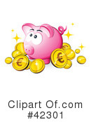 Royalty-Free (RF) financial Clipart Illustration #42301