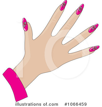 Fingernails Clipart #1066459 by Maria Bell