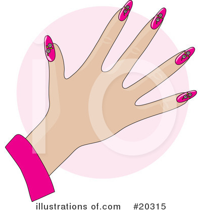 Fingernails Clipart #20315 by Maria Bell