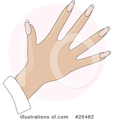 Fingernails Clipart #20482 by Maria Bell