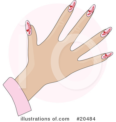 Fingernails Clipart #20484 by Maria Bell