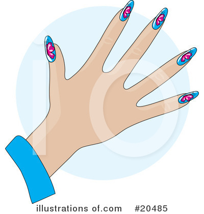 Fingernails Clipart #20485 by Maria Bell