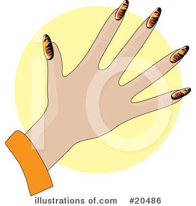 Fingernails Clipart #20486 by Maria Bell
