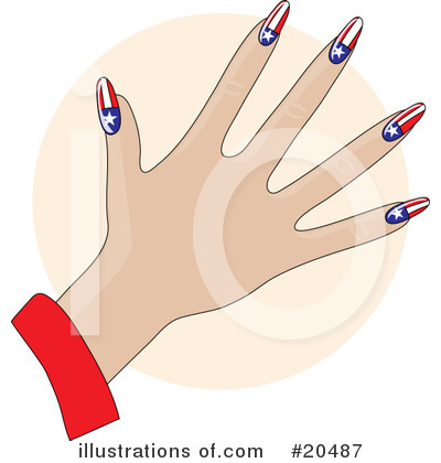 Fingernails Clipart #20487 by Maria Bell