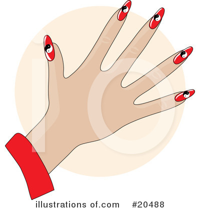 Fingernails Clipart #20488 by Maria Bell