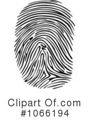 Royalty-Free (RF) Fingerprint Clipart Illustration #1066194