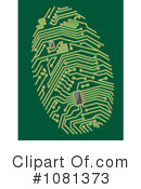 Royalty-Free (RF) Fingerprint Clipart Illustration #1081373