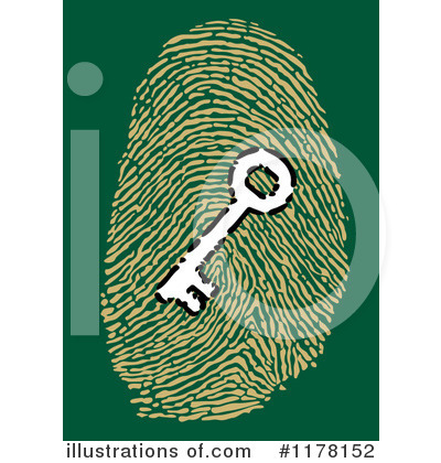 Royalty-Free (RF) Fingerprint Clipart Illustration by Vector Tradition SM - Stock Sample #1178152