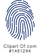 Royalty-Free (RF) Fingerprint Clipart Illustration #1461294