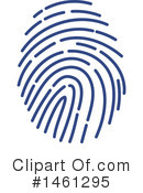 Royalty-Free (RF) Fingerprint Clipart Illustration #1461295