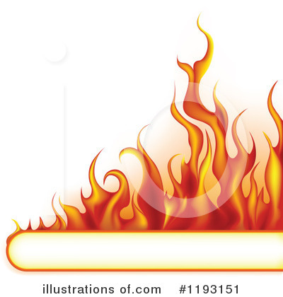 Flames Clipart #1193151 by dero