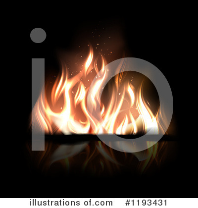 Camp Fire Clipart #1193431 by TA Images