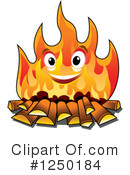 Fire Clipart #1250184 by Vector Tradition SM