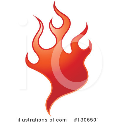 Royalty-Free (RF) Fire Clipart Illustration by Lal Perera - Stock Sample #1306501