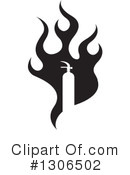 Royalty-Free (RF) Fire Clipart Illustration #1306502