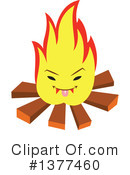 Fire Clipart #1377460 by Cherie Reve