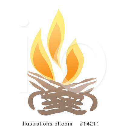 Royalty-Free (RF) Fire Clipart Illustration by Rasmussen Images - Stock Sample #14211