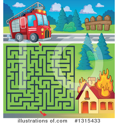 Maze Clipart #1315433 by visekart