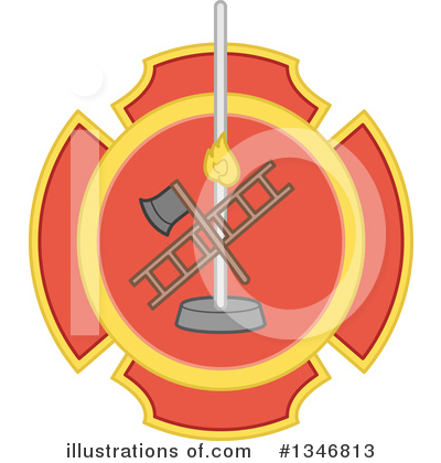 Firefighter Clipart #1346813 by BNP Design Studio