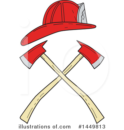 Fire Department Clipart #1449813 by patrimonio