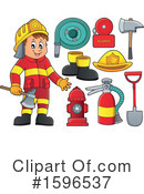 Fire Department Clipart #1596537 by visekart
