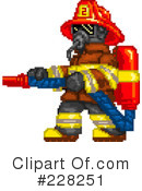 Royalty-Free (RF) Fire Department Clipart Illustration #228251