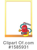 Fire Extinguisher Clipart #1585931 by visekart