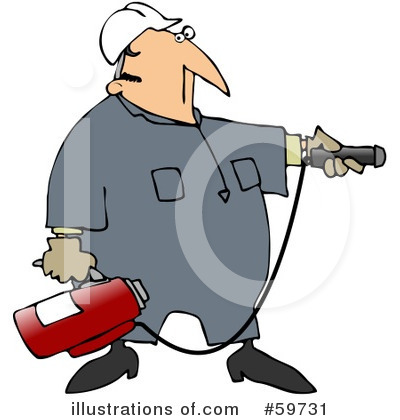 Fire Extinguisher Clipart #59731 by djart