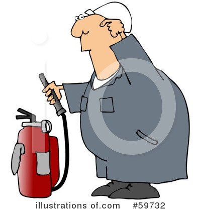 Fire Extinguisher Clipart #59732 by djart