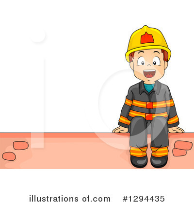 Firefighter Clipart #1294435 by BNP Design Studio