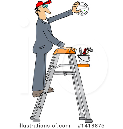 Ladder Clipart #1418875 by djart
