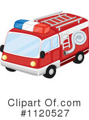 Fire Truck Clipart #1120527 by Graphics RF