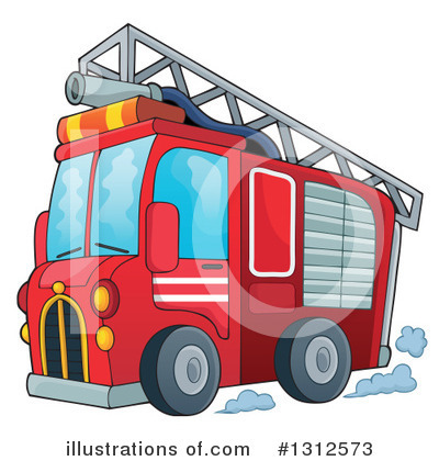 Firefighter Clipart #1312573 by visekart