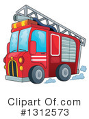 Fire Truck Clipart #1312573 by visekart