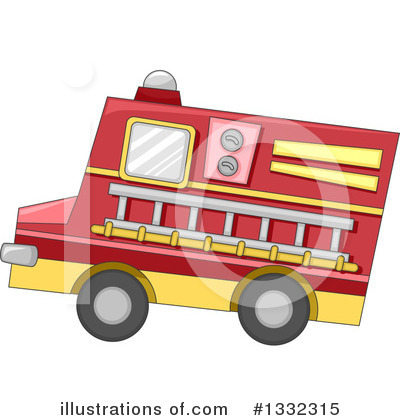 Firefighter Clipart #1332315 by BNP Design Studio
