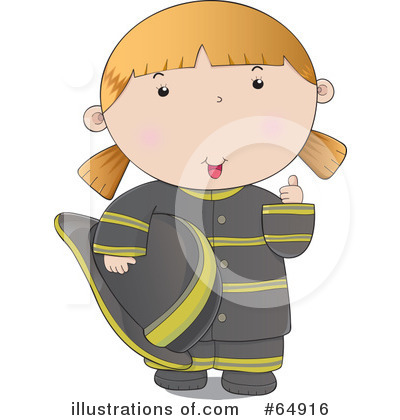 Royalty-Free (RF) Fire Woman Clipart Illustration by YUHAIZAN YUNUS - Stock Sample #64916