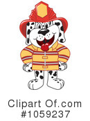 Firefighter Clipart #1059237 by Toons4Biz