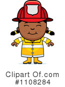Royalty-Free (RF) Firefighter Clipart Illustration #1108284