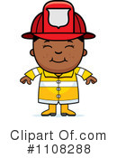 Firefighter Clipart #1108288 by Cory Thoman