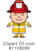 Royalty-Free (RF) firefighter Clipart Illustration #1108289