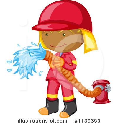 Fireman Clipart #1139350 by Graphics RF