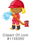 Royalty-Free (RF) Firefighter Clipart Illustration #1139350