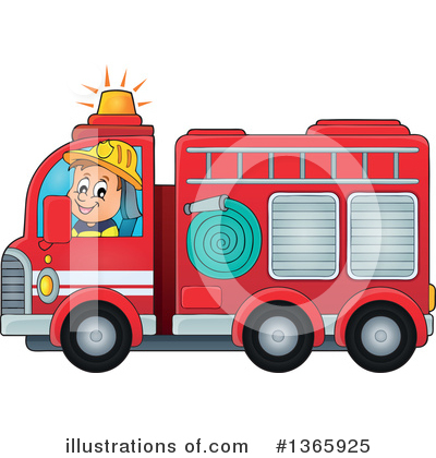 Fireman Clipart #1365925 by visekart