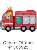 Firefighter Clipart #1365925 by visekart