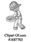 Firefighter Clipart #1687785 by Leo Blanchette